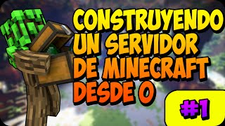 CONSTRUYENDO UN SERVIDOR DE MINECRAFT DESDE 0 | SPAWN POINT