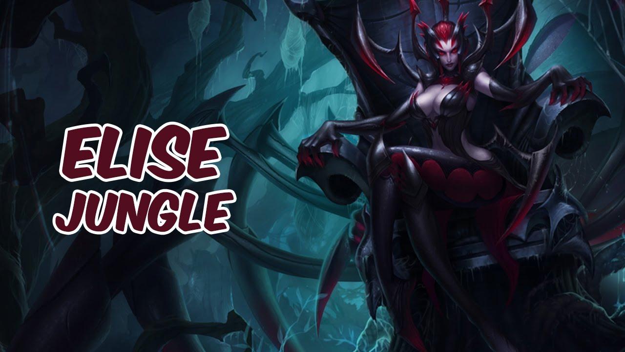 Elise jungle vs xin zhao diamond season 5 patch 5 13 youtube