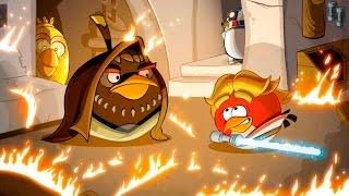 Angry Birds Star Wars Злые Птички прохождение игры Серия 1