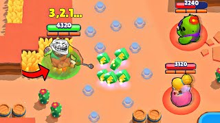 200 IQ vs 0 IQ I Brawl Stars Wins & Fails #9