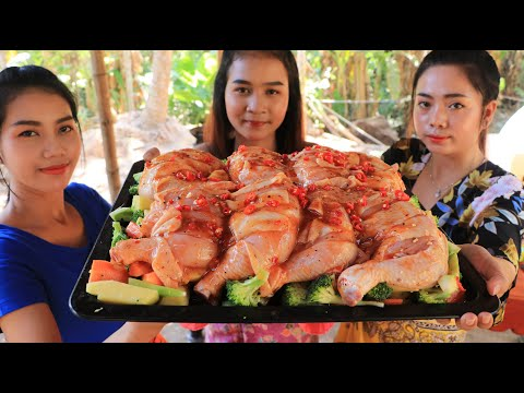Cooking Chicken Leg With Vegetable Recipe - Natural Life TV