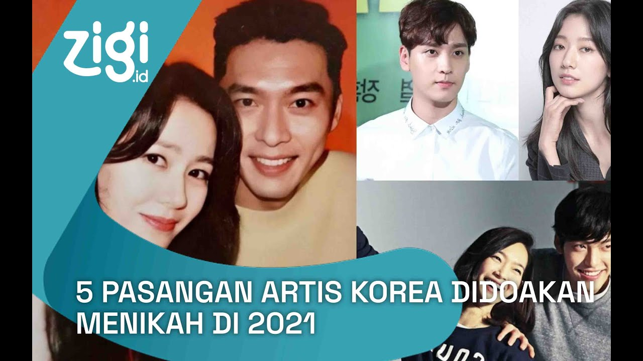 5 Pasangan Artis Korea Didoakan Menikah di 2021 | Zigi