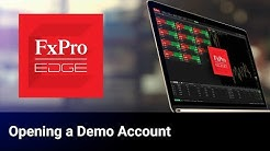 FxPro Edge | How to Open a Demo Account