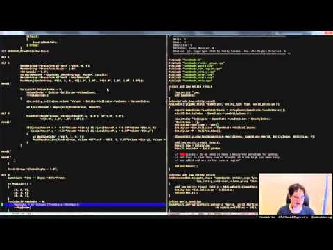 Handmade Hero Day 212 - Integrating Debug UI into Game Code