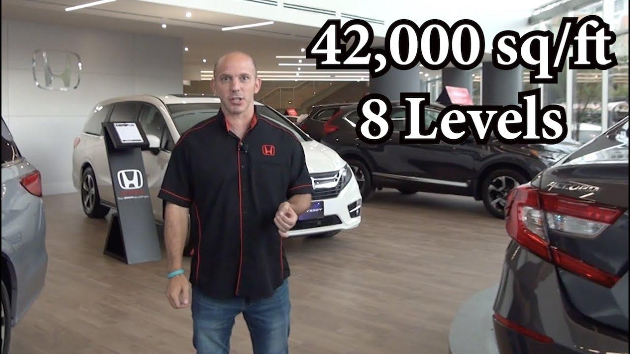 Honda Dealership Columbus Ohio >> Grand Opening Of The Worlds Largest Honda Dealership