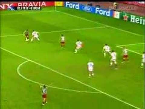 Olympiacos Atene - AS Roma 0-1 Magia Rodrigo Taddei Aurelio