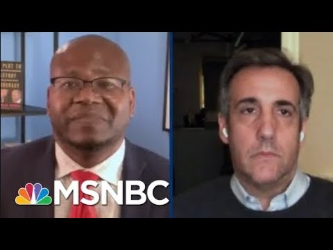 Michael Cohen and Jason Johnson MSNBC Interview About Donald Trump