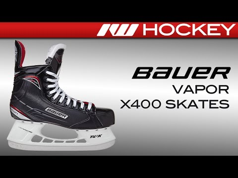 2017 Bauer Vapor X400 Skate Review