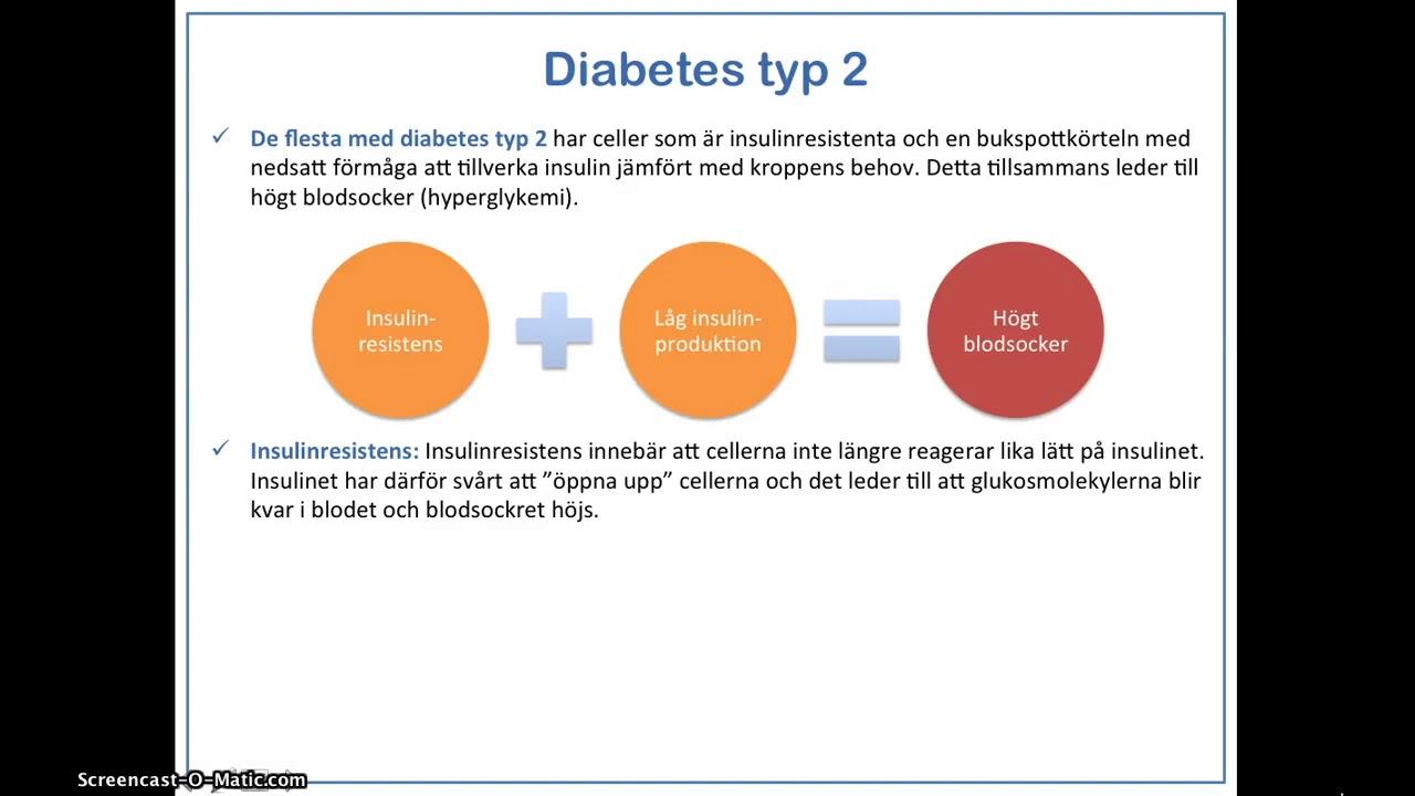 vad är diabetes