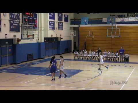 Herricks HS Girls Varsity Basketball vs Long Beach HS 01/28/17