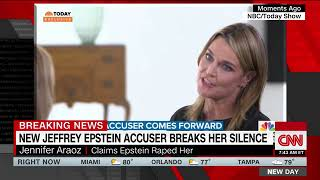 Jennifer Araoz describes her alleged encounters and says she told Jeffrey Epstein to stop