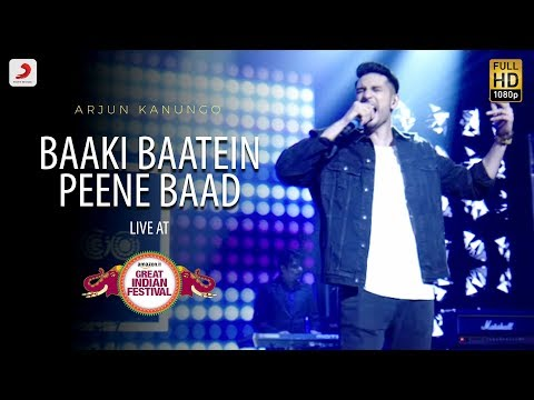 Baaki Baatein Peene Baad - Live @ Amazon Great Indian Festival | Arjun Kanungo | Badshah