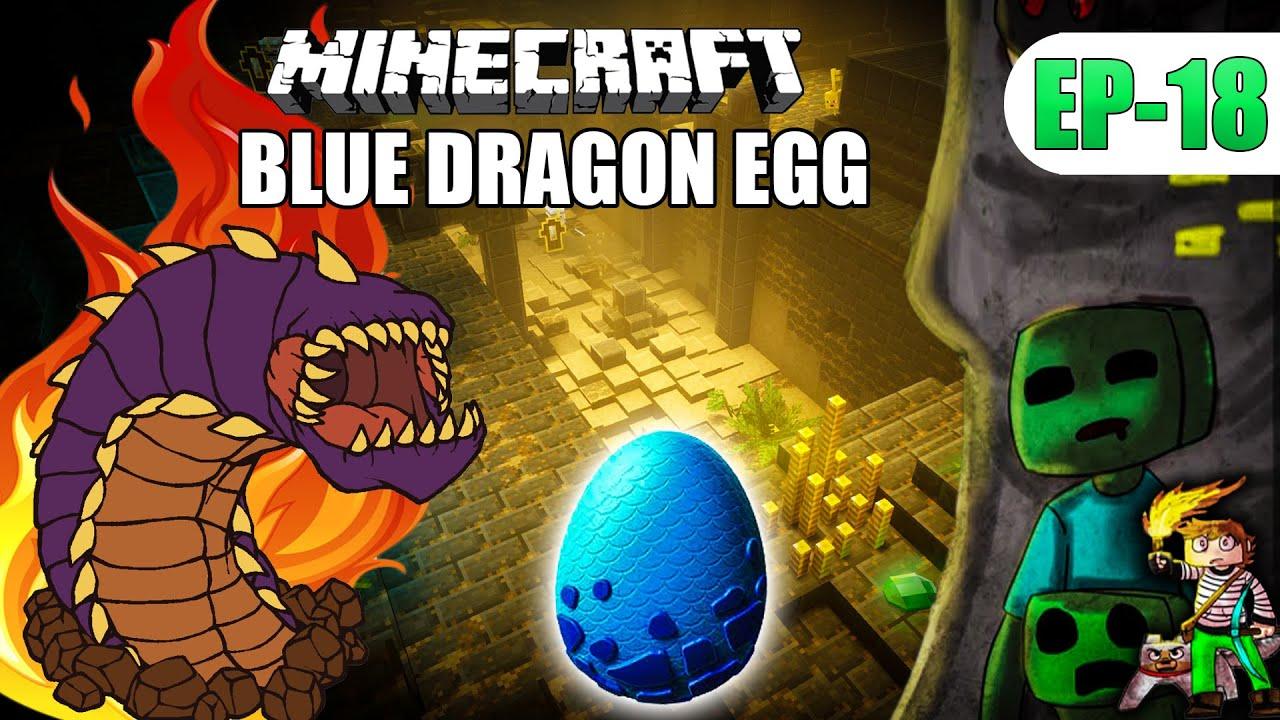 MINECRAFT KILL Death worm (BLUE DRAGON EGG) हिंदी 4x4gaming Ep-18