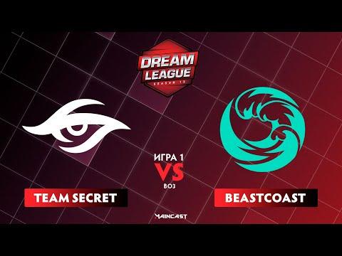 Team Secret vs Beastcoast vod