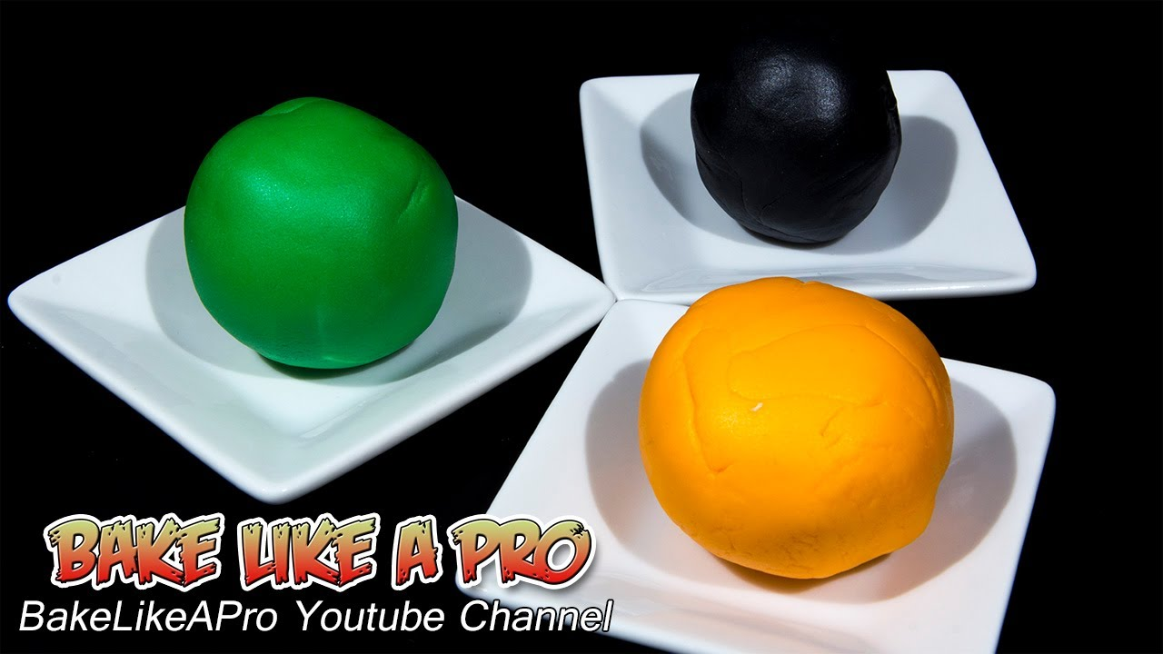 How To Color Fondant ! - YouTube
