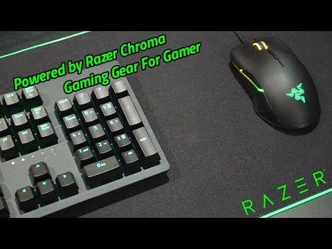 RAZER Gaming Gear เพิ่มสีสัน RGB สุดเร้าใจ ปลุกพลังเกมเมอร์ให้พร้อมลุย