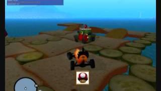 """""""cuttingboard"""" - Balloon Battle Map - Mta Mario Kart Resource By Puma"""