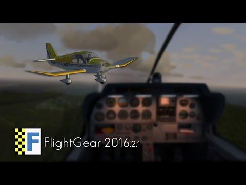FlightGear 2016 | Robin DR400 | Karaiby o zachodzie słońca [TFFJ-TNCM]