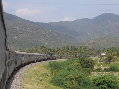 Journey through Nilgiri Hills: Coimbatore to Bangalore, Coimbatore LTT Express