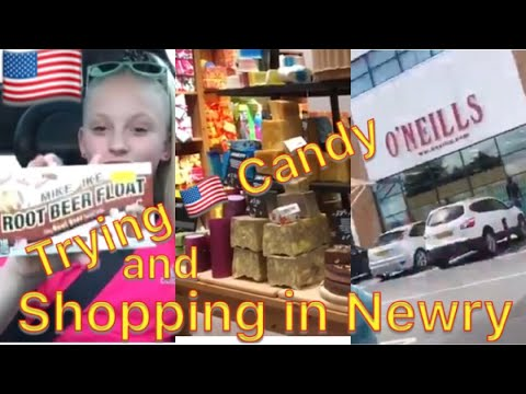Shopping Day in Newry (Northern Ireland) ❤️Trying American Candy❤️