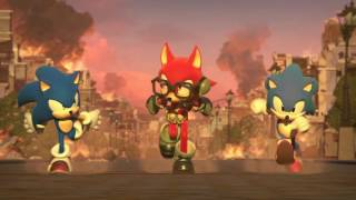 Sonic Forces Custom Character Trailer