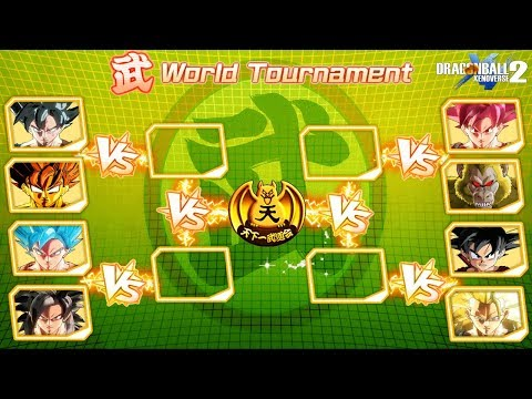 All Goku's Transformations Tournament - DragonBall Xenoverse 2