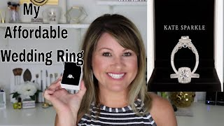 Where to Buy Affordable Wedding Rings  Kate Sparkle Review