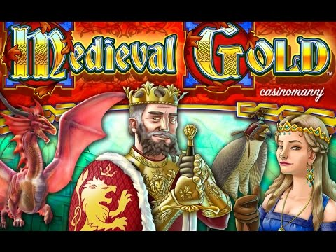 Medieval Gold Slot *NEW SLOT* - Slot Machine Bonus - 동영상