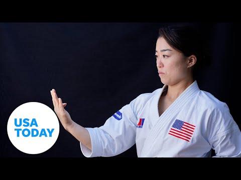 Sakura Kokumai wants karate to shine in its Olympic debut | USA TODAY