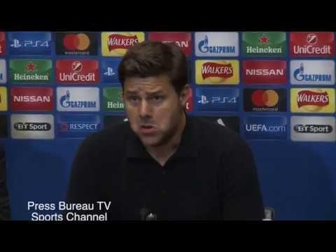 Mauricio Pochettino reaction Tottenham vs Monaco
