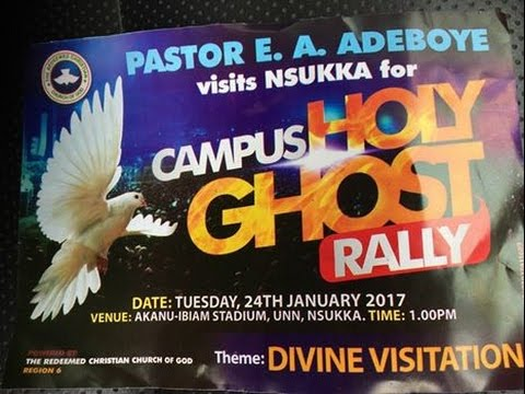 CAMPUS HOLY GHOST SERVICE_UNIVERSITY OF NIGERIA