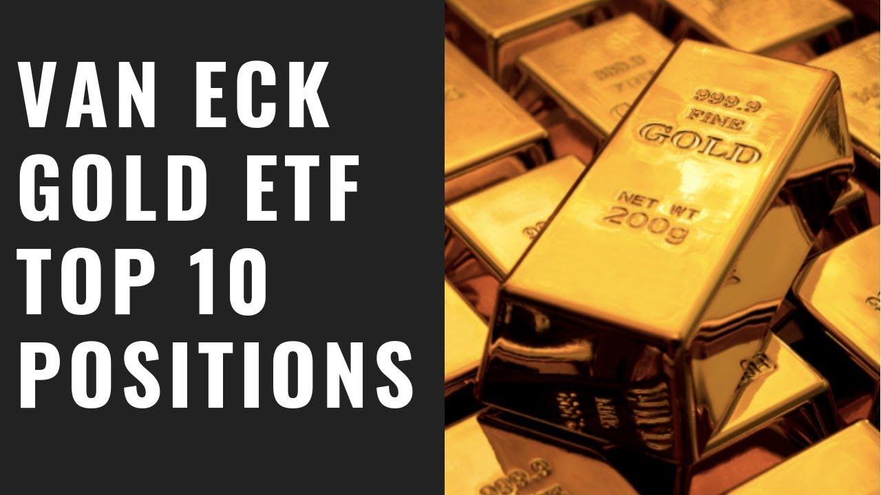Gold Etf Yzed Top 10 Stocks