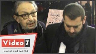 بالفيديو.. المرض يغير ملامح الفنان نور الشريف