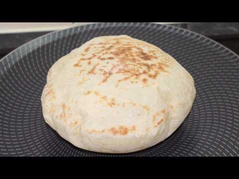Balon Ekmek ✔ Tavada Mayalı Ekmek Nasıl Yapılır