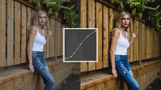 HOW TO USE THE TONE CURVE in Lightroom