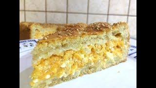 🔴Самый вкусный пирог с тыквой 🍰 Κολοκυθόπιτα με κίτρινη κολοκύθα