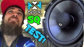 Testing NVX Speakers w/ Good Instrumental Bass Beats | VSP69 & VSP65 Car Audio Coaxial Speaker Test