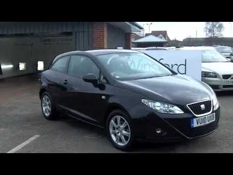 seat ibiza sport coupe 2010 1 4 se 3dr vu10uxb youtube. Black Bedroom Furniture Sets. Home Design Ideas