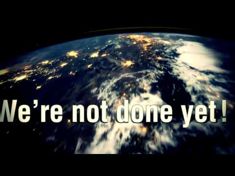 WE'RE NOT DONE YET Lyric Video