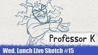 Professor K - Jet Set Radio - Wednesday Night Live Sketch #15