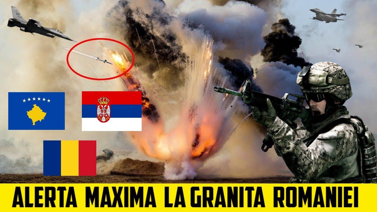 ALERTA MAXIMA La GRANITA ROMANIEI! CIOCNIRE VIOLENTA Intre SERBIA Si KOSOVO - UE INTERVINE