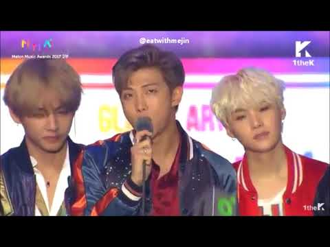 [ENG SUB] ALL BTS AWARDS + SPEECH COMPILATION @ MELON MUSIC AWARDS 2017!