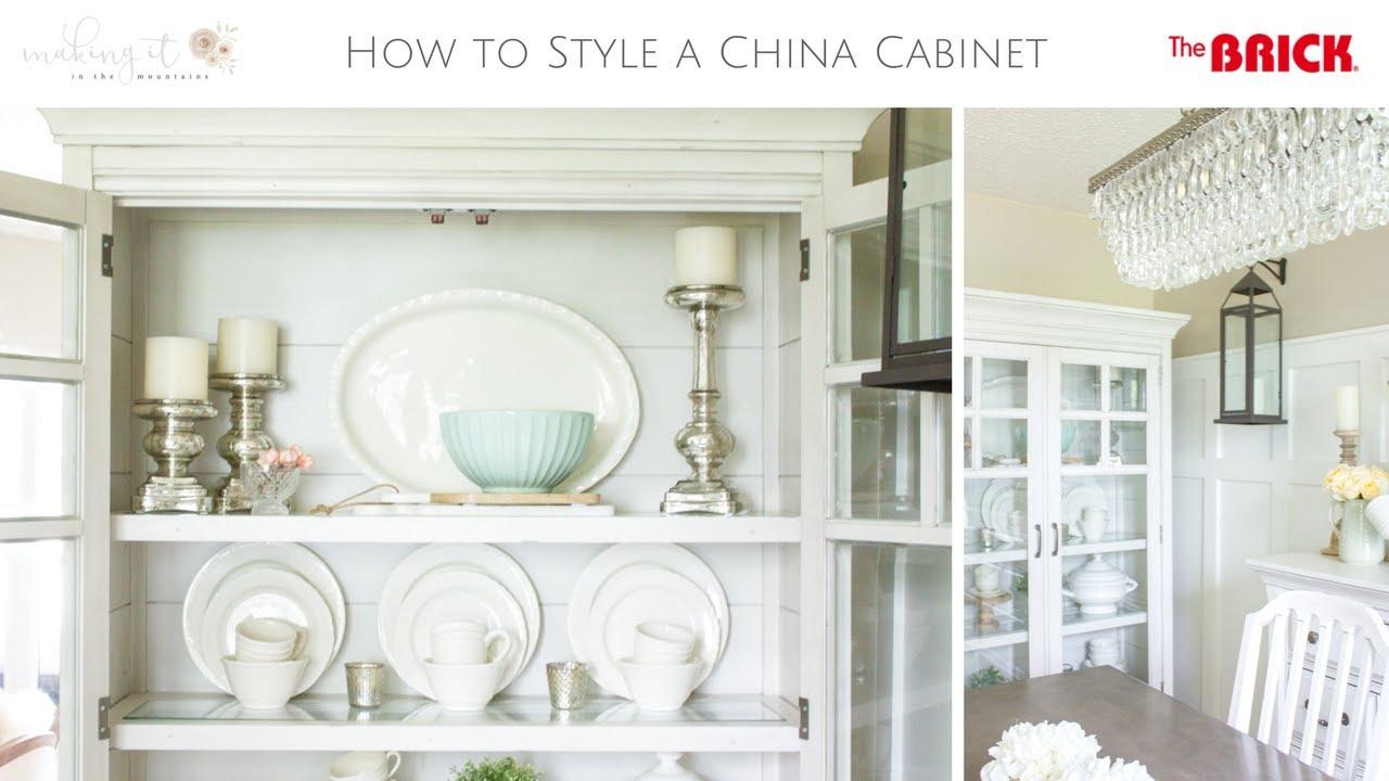 Farmhouse Home: How to Style a Farmhouse China Cabinet