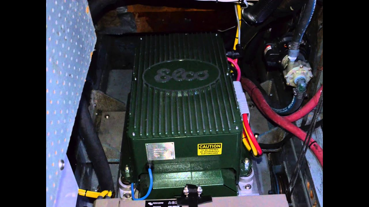 Elco Clean Electric Propulsion Motor Installation Youtube