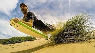 Extreme Sandboarding New Zealand - Living a Kiwi Life - Ep. 43
