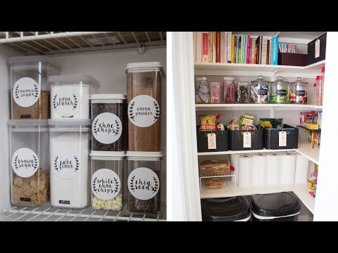29 Easy Ways to Organize Your Kitchen Pantry