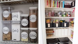 29 Easy Ways to Organize Your Kitchen Pantry