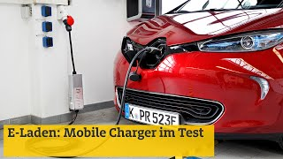 E-Laden: Mobile Charger im Test | ADAC 2019