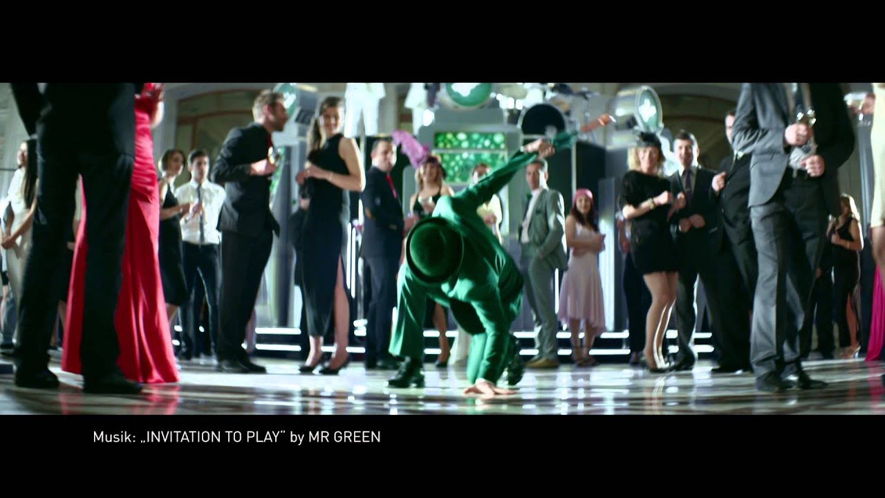 Mr Green Werbung