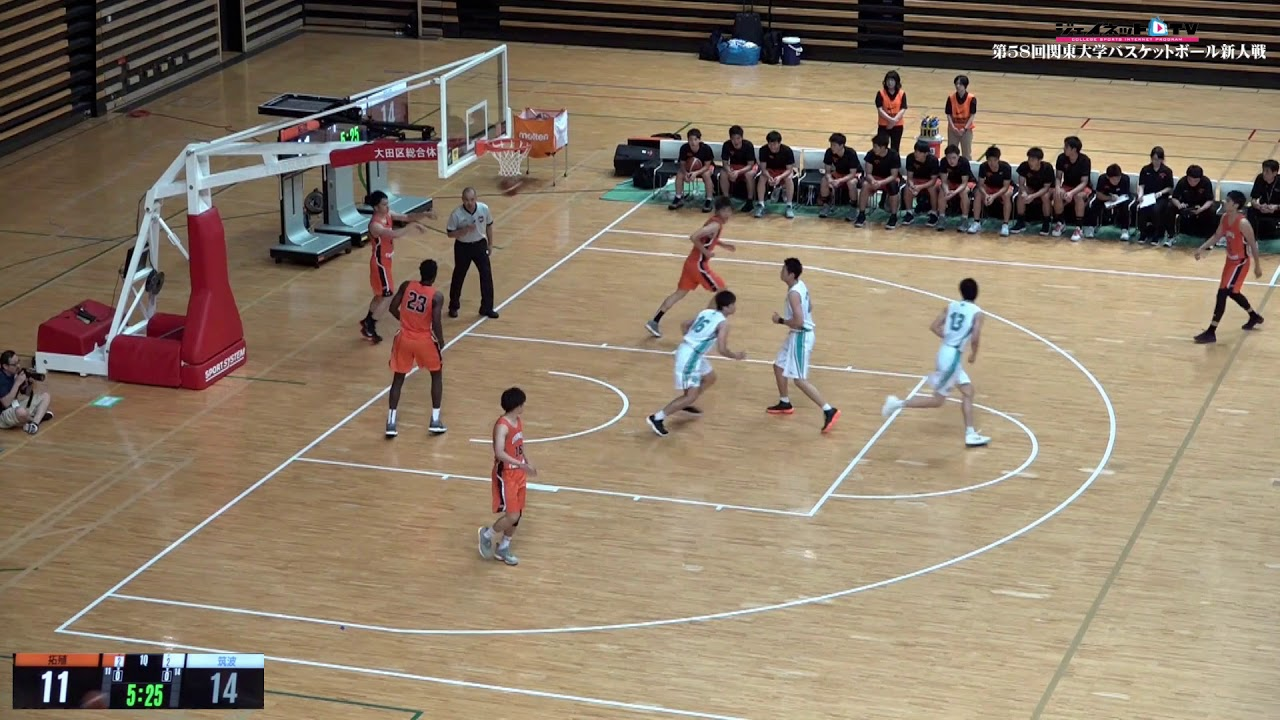 関東 大学 バスケ
